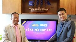 Lễ ký kết giữa Công ty Cổ phần Nghe Nhìn Toàn cầu - AVG và Công ty Cổ phần Truyền thông, Quảng cáo Đa phương tiện - Smart Media JSC