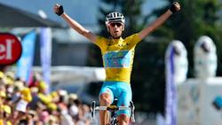 Vincenzo Nabali là tay đua cự phách của làng xe đạp thế giới