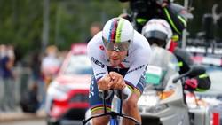 Filippo Ganna chạy cá nhân tính giờ