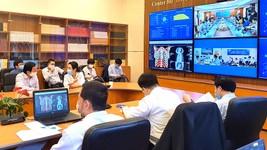 Bác sĩ Bệnh viện ĐH Y Hà Nội hội chẩn trực tuyến với bệnh viện tuyến dưới về 1 ca bệnh khó