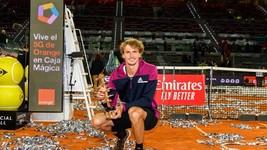 Zverev vô địch ở Madrid lần thứ 2