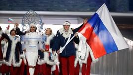 Quốc kỳ của Nga không được phép tung bay tại Olympic Tokyo 2020. Ảnh: AP