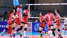 Năm 2018, bóng chuyền Việt Nam sẽ đăng cai giải U.19 nữ châu Á. Ảnh: THIÊN HOÀNG