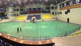 Nhà thi đấu Tam Kỳ (Quảng Nam) là nơi đăng cai Cúp VTV9 Bình Điền lần thứ 12. Ảnh: PHAN NAM