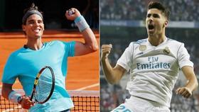 Rafael Nadal là người góp công rất lớn giúp Asensio gia nhập Real Madrid. Ảnh: The Sun