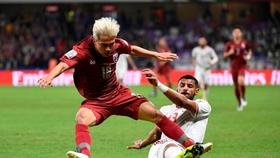 Thái Lan đã ngược dòng giành vé vào vòng 1/8. Ảnh: Siamsport
