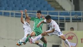 Quảng Nam giành chiến thắng trước tân binh hạng nhất Phù Đổng. Ảnh: MINH HOÀNG