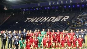 Đội Việt Namđứng nhì tại King's Cup 2019. Ảnh: Dũng Phương