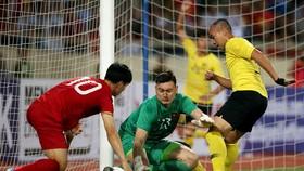 Thủ môn Văn Lâm giữ trọn mành lưới sau 2 trận đầu tiên. Ảnh: Minh Hoàng