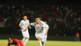 Quang Hải và tuyển Việt Nam đang hừng hực khí thế. Ảnh: MINH HOÀNG