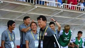 """Ông Chung đã từng """"gieo sầu"""" cho HA.GL ở trận lượt đi tại Pleiku. Ảnh: Anh Trần"""