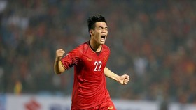 Tiến Linh được giữ lại ở U22 Việt Nam trong đợt tập trung cuối cùng cho SEA Games 2019. Ảnh: Minh Hoàng