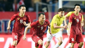 Hùng Dũng (18) và Trọng Hoàng (8) được chọn tham dự SEA Games 30.
