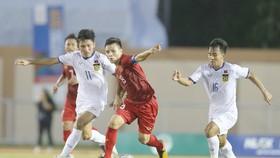 Đội trưởng Quang Hải và U22 Việt Nam tự tin vượt qua mọi rào cản để hướng đến ngôi cao. Ảnh: DŨNG PHƯƠNG