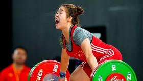 Cô gái Lào Cai, Hoàng Thị Duyên tự tin hướng tới Olympic 2020 sau khi đoạt HCV SEA Games 30. Ảnh: DŨNG PHƯƠNG