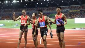 Chia sẻ bất ngờ sau chiến thắng của tổ tiếp sức 4x400m hỗn hợp