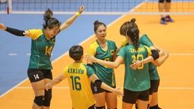 VTV Bình Điền Long An giành chiến thắng đầu tiên tại vòng 1. Ảnh: DŨNG PHƯƠNG