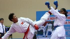 Đội tuyển karatedo Việt Nam đặt mục tiêu dự Olympic.