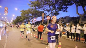 VĐV Phong Trần có thi đấu và được ghi lại từ camera của ban tổ chức. Ảnh: Ban tổ chức