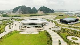 Nhà thi đấu đa năng có sức chứa 5.000 chỗ của ngành TDTT Quảng NInh. Ảnh: DŨNG PHƯƠNG