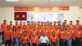 Lớp tập huấn trọng tài chuẩn bị cho SEA Games 31. Ảnh: N.M.HÙNG