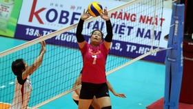 Chuyền 2 kỳ cựu Hà Thị Hoa sẽ thi đấu cho CLB nữ Vĩnh Phúc.