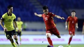 Đội tuyển Việt Nam trên hành trình chinh phục tấm vé tham dự World Cup 2022. Ảnh: KHƯƠNG DUY