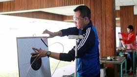 Hoàng Xuân Vinh sẽ đại diện đội tuyển bắn súng VIệt Nam tham dự Olympic Tokyo 2020.
