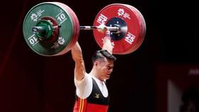 Lực sĩ Thạch Kim Tuấn sẽ bước vào tranh tài ở hạng cân 61kg nam.