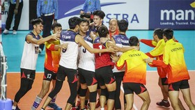 Do tác động của dịch Covid-19, đội tuyển bóng chuyền nam không thể tham dự các giải đấu quốc tế.