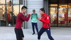 Nguyễn Văn Đương và Nguyễn Thị Tâm có thể được đi tập huấn dài hạn ở nước ngoài.