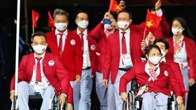 Đoàn thể thao người khuyết tật Việt Nam vừa tham dự Paralympic Tokyo 2020.