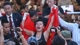 Võ sĩ Nguyễn Thị Thu Nhi đã giành đai WBO thế giới hạng ruồi.