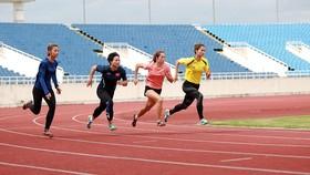 Điền kinh là một trong số các đội tuyển đã hoàn tất thi đấu kiểm tra thành tích.