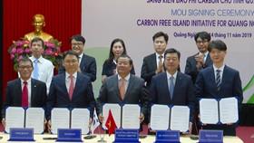 Doanh nghiệp Hàn Quốc, Việt Nam chung tay xây dựng đảo phi carbon tại Lý Sơn