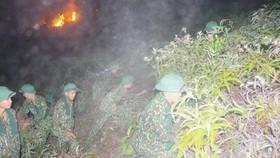 Cơ bản khống chế được đám cháy rừng ở Hà Tĩnh