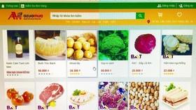 Hàng chục tấn rau quả tiêu thụ trên chợ mạng mỗi ngày