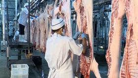 Nguồn cung thịt của Vissan chiếm hơn 10% tổng nguồn cung thịt heo cho TPHCM.