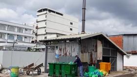 Bệnh viện Sản nhi là một trong nhiều bệnh viện trên địa bàn tỉnh Cà Mau vi phạm về môi trường