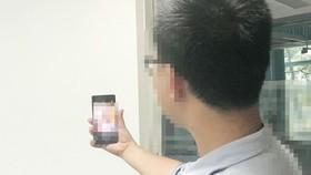 """Bị bắt khi lấy điện thoại trộm được chụp ảnh """"tự sướng"""""""