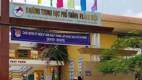 Bà Phạm Ngọc Phụng bị cho thôi chức Hiệu trưởng Trường THPT Hoàng Diệu