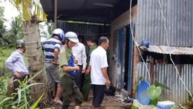 Dùng xăng tấn công đoàn cưỡng chế làm 7 người bị thương
