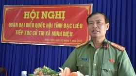 Giám đốc Công an tỉnh Bạc Liêu làm Cục trưởng Cục Tổ chức cán bộ Bộ Công an
