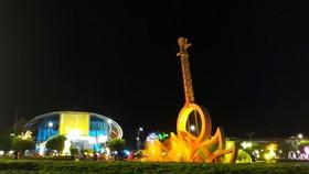 Quảng trường Hùng Vương - nơi diễn ra nhiều hoạt động Tuần Văn hóa - Du lịch Bạc Liêu 2019