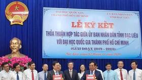 Bạc Liêu hợp tác với Đại học Quốc gia TPHCM nâng cao chất lượng nguồn nhân lực