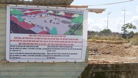 Ban QLDA xây dựng huyện Cái Nước cho nhà thầu tổ chức thi công dù chưa hết thời gian kiến nghị