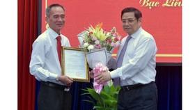 Ông Lữ Văn Hùng giữ chức Bí thư Tỉnh ủy Bạc Liêu