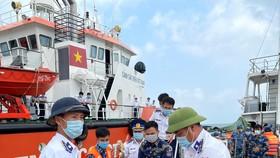 Bộ Tư lệnh Vùng Cảnh sát biển 4 điều tàu đưa ngư dân vào TP Phú Quốc cấp cứu