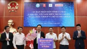 Cà Mau: Tập đoàn Tuần Châu tài trợ 1 tỷ đồng tổ chức lễ hội Hương rừng U Minh