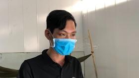 Đối tượng Nguyễn Chí Hiếu Minh Thanh. Ảnh: HOÀNG GIANG.